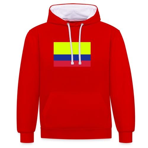 Columbia Sweden - Contrast hoodie
