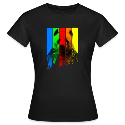 P.A.N.D.A. [WOMEN] - Frauen T-Shirt