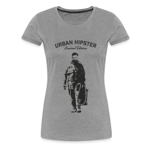Urban Hipster Spaceman - Women's Premium T-Shirt
