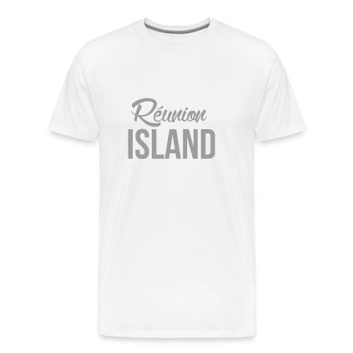Tee-shirt Homme Unicolore - Réunion Island - T-shirt Premium Homme