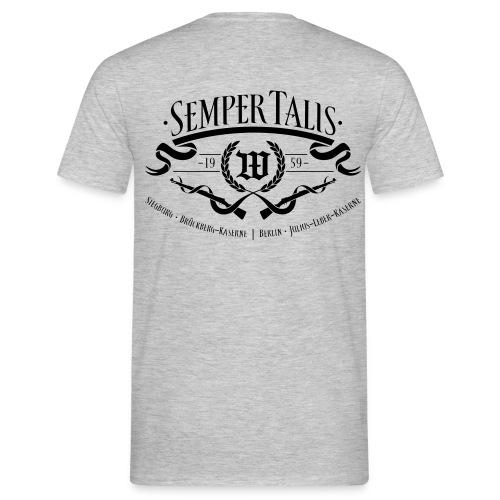T-Shirt - Wappen 5./WachBtl BMVg - Männer T-Shirt