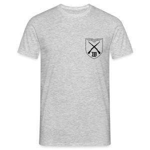 T-Shirt - Wappen Schwarz Brust | 5./WachBtl BMVg - Männer T-Shirt