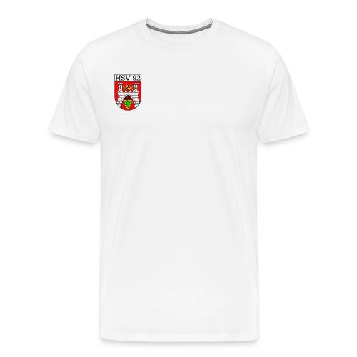 Shirt mit Logo auf Brust 2 - Männer Premium T-Shirt