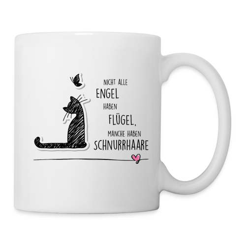 Cat Angel - Tasse
