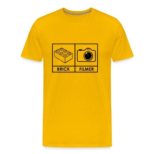 Brickfilmer - Männer Premium T-Shirt