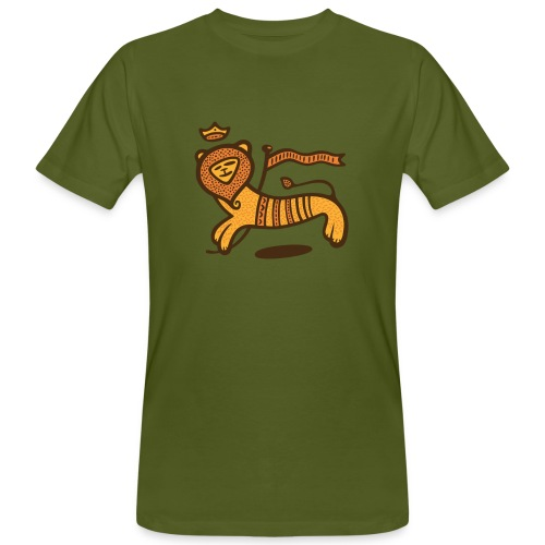 Conquering Lion - Continental Bio - Männer Bio-T-Shirt