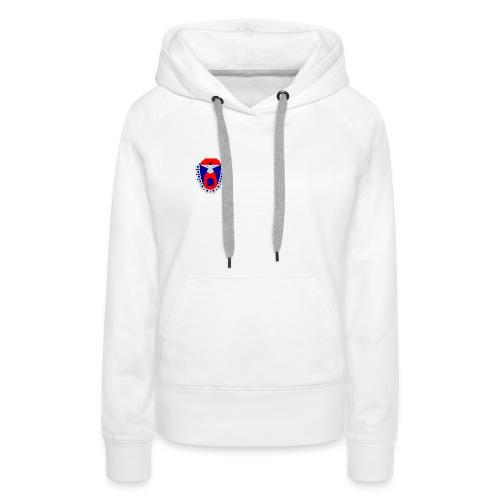 sweat-shirt logo femme - Sweat-shirt à capuche Premium pour femmes