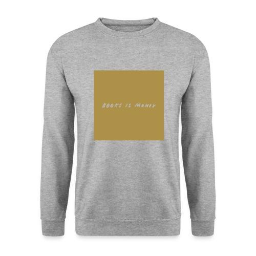 books is money shirt - Herre sweater
