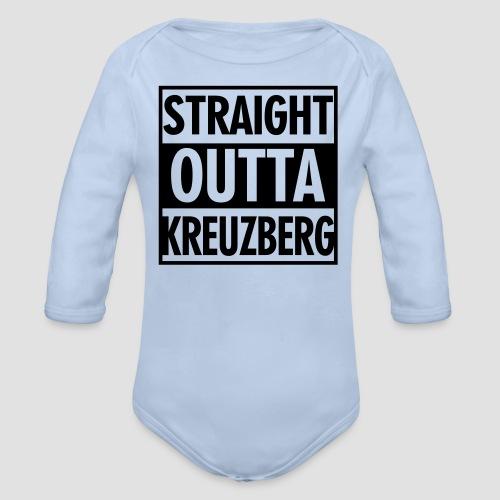 Straight OUTTA Kreuzberg - Baby Bio-Langarm-Body