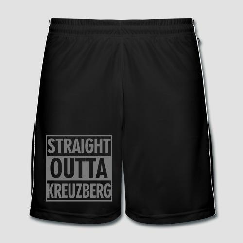 Straight OUTTA Kreuzberg - Männer Fußball-Shorts