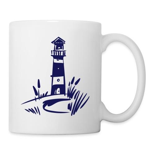 Tasse Leuchtturm navy - Tasse