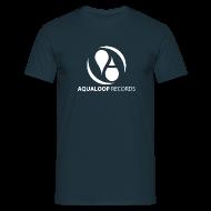 T-Shirts ~ Men's T-Shirt ~ Aqualoop Blue Shirt