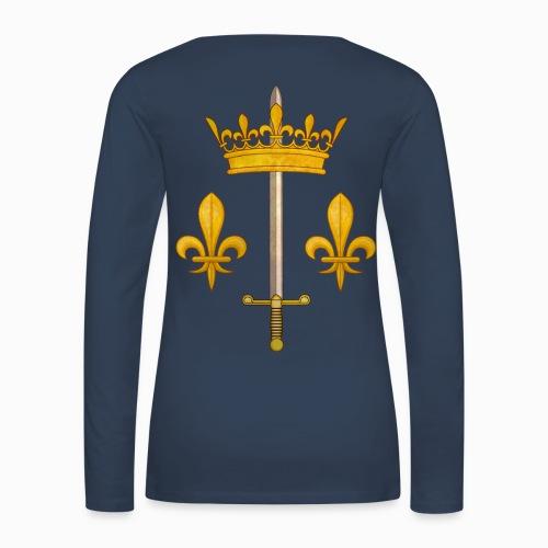 Tshirt Jeanne d'Arc manches longues - T-shirt manches longues Premium Femme