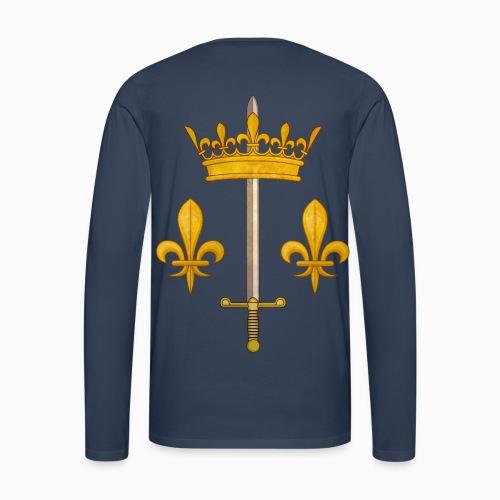 Tshirt Jeanne d'Arc manches longues Homme - T-shirt manches longues Premium Homme