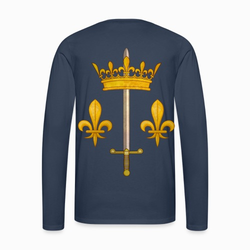 Tshirt Jeanne d'Arc manches longues Homme - Tee shirt manches longues Premium Homme