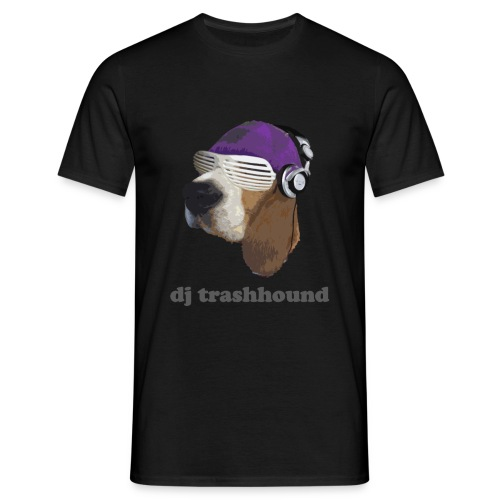 DJ trashhound - Men's T-Shirt