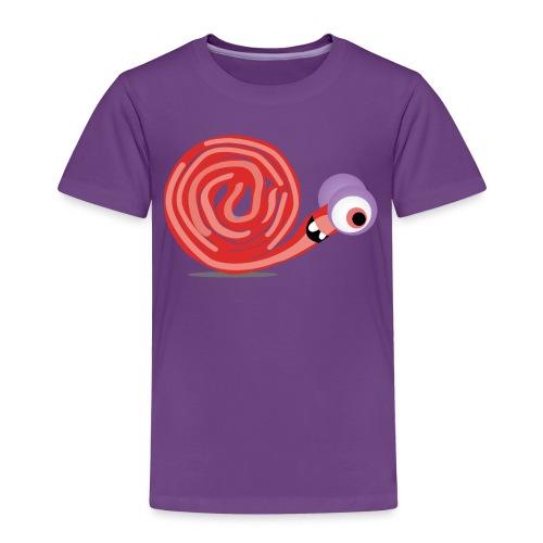 Schnecki Spaghetti - Kinder Premium T-Shirt