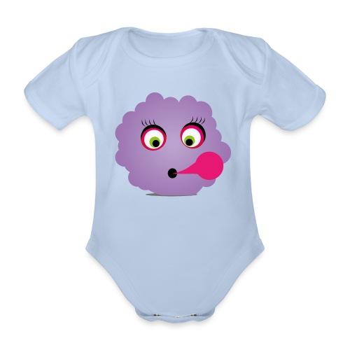 Wicki Wolke - Baby Bio-Kurzarm-Body