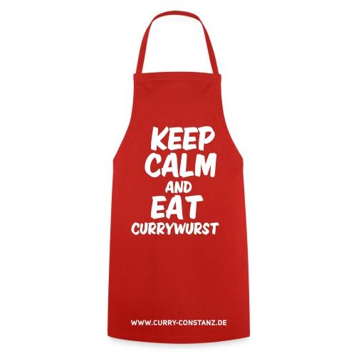 Keep calm an eat Currywurst - Kochschürze