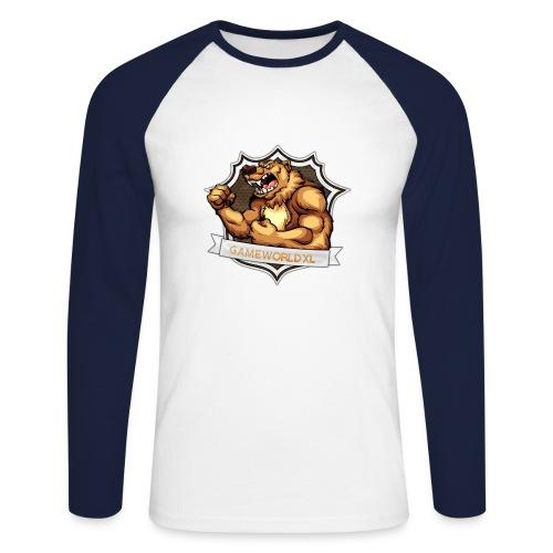 Mannen Shirt Lange Mouwen - Mannen baseballshirt lange mouw