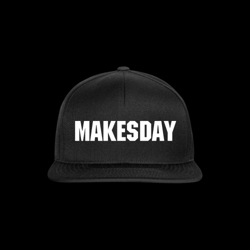 MakesDay Cap Schwarz - Snapback Cap