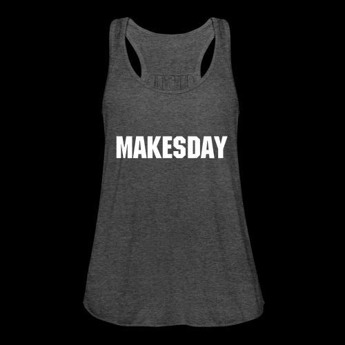 MakesDay Top Grau - Frauen Tank Top von Bella