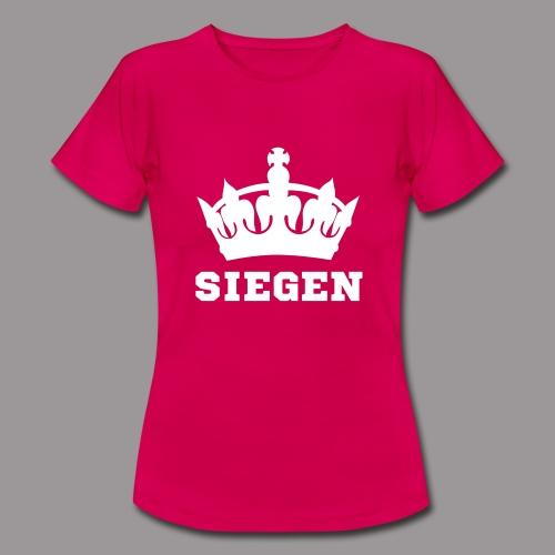 Frauen T-Shirt - Krone Siegen - Frauen T-Shirt