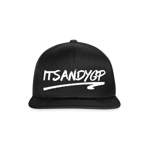 ItsAndyGP Black Snapback - Snapback Cap
