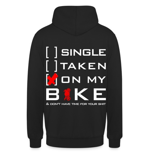 ON MY BIKE - Pullover | Ladies&Men - Unisex Hoodie
