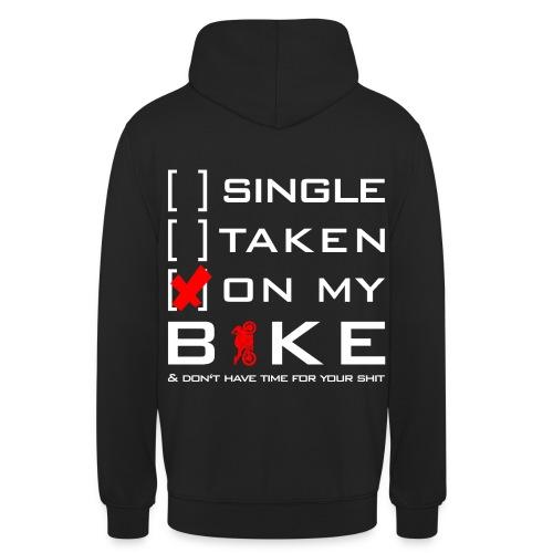 ON MY BIKE - Pullover   Ladies&Men - Unisex Hoodie