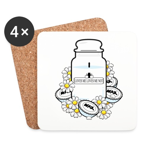 LOVES ME - Coasters (set of 4)