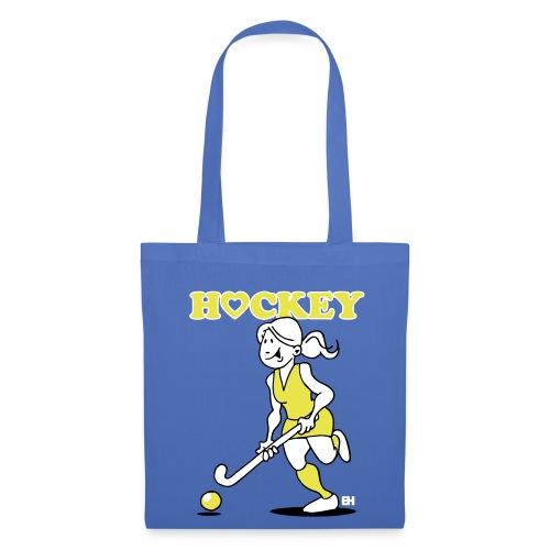 Jag älskar landhockey. En hockey flicka. Väskor & ryggsäckar - Tote Bag
