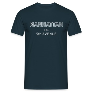 MANHATTAN 5th Avenue T-Shirt - Männer T-Shirt