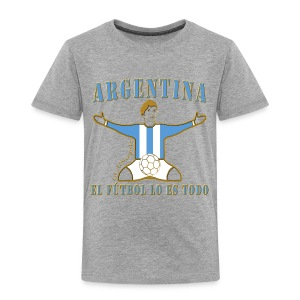 Argentina football soccer celebration kid's premium t-shirt - Kids' Premium T-Shirt