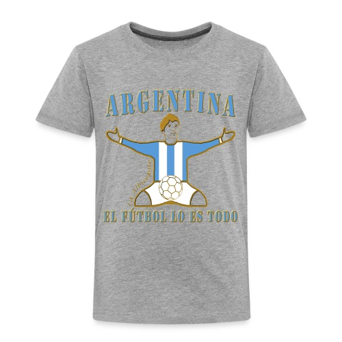 Argentina football soccer celebration kid's premium t-shirt - Kids' Premium T-Shirt