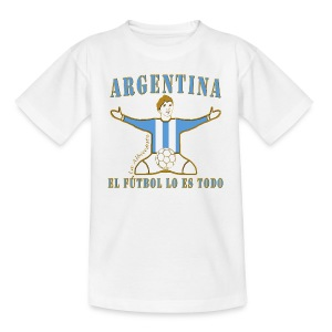 Argentina football soccer celebration teenage t-shirt - Teenage T-shirt
