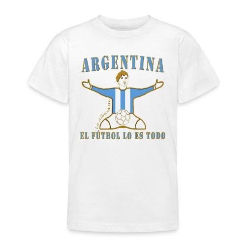 Argentina football soccer celebration teenage t-shirt - Teenage T-shirt