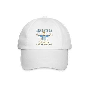 Argentina football soccer celebration baseball cap - Baseball Cap