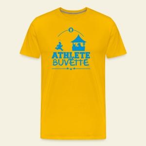 Athlète de Buvette - T-shirt Premium Homme