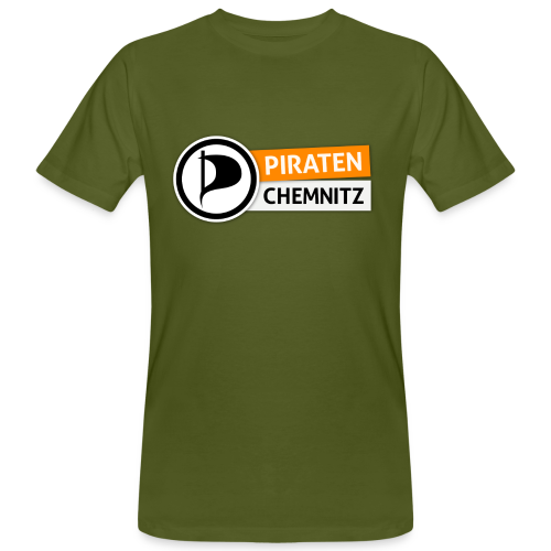 Piraten Chemnitz - Bio-Shirt - Männer Bio-T-Shirt