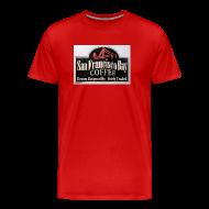 T-Shirts ~ Men's Premium T-Shirt ~ San Fran Coffee