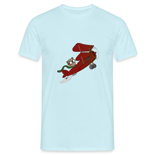 Teddy Biplane Tee - Men's T-Shirt