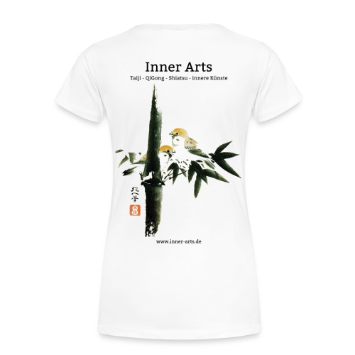 Shirt mit Taille - Frauen Premium T-Shirt