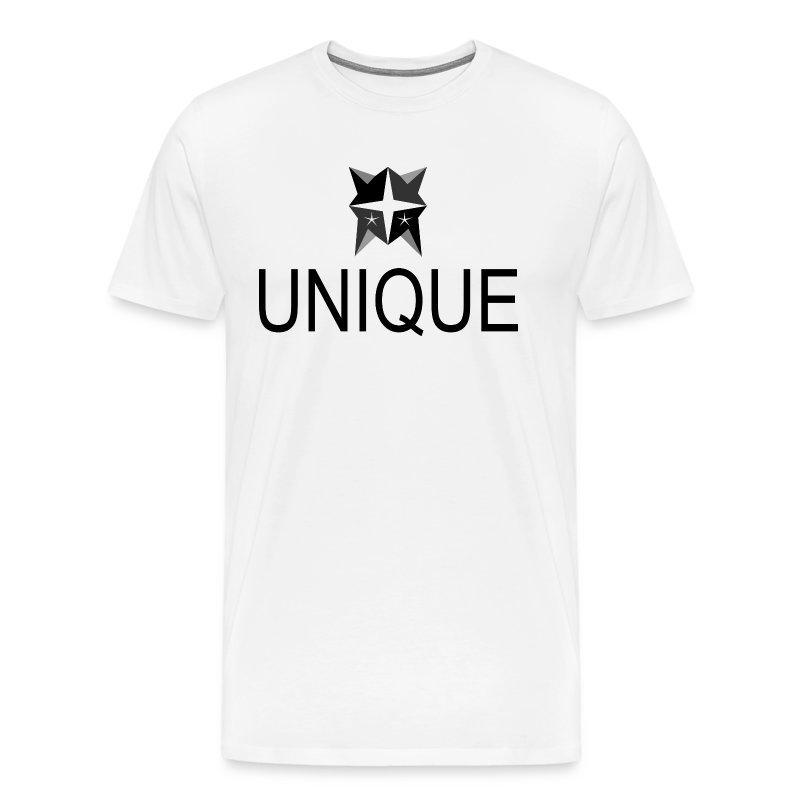 Unique White Tee - Männer Premium T-Shirt