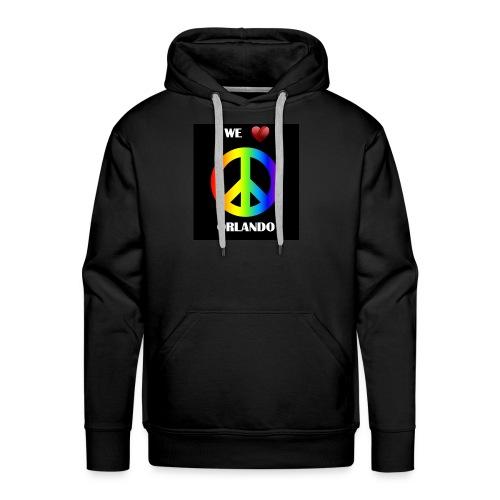 Peace jumper Orlando - Men's Premium Hoodie
