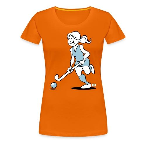 Hockey-Mädchen T-Shirts - Women's Premium T-Shirt