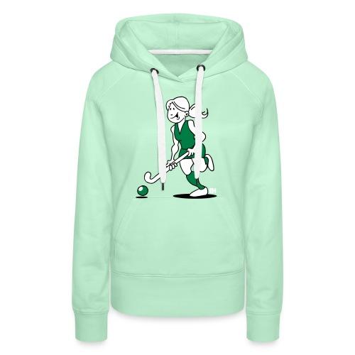 Hockey-Mädchen Pullover & Hoodies - Women's Premium Hoodie