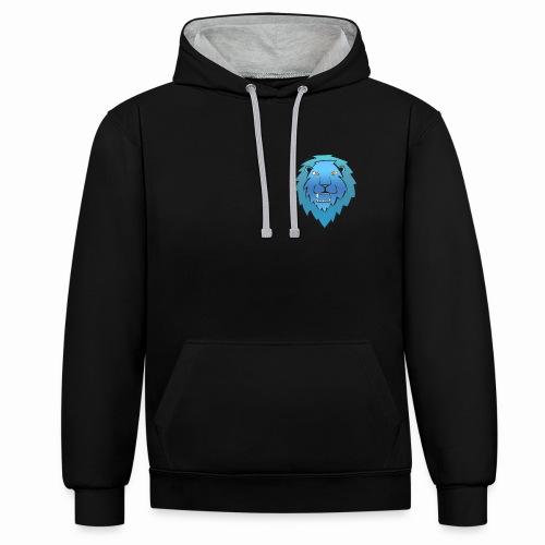 Contrast hoodie -    Cas Zijn Avonturen- Copyright 2016