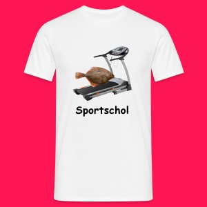 Shirt voor in de sportschool - Mannen T-shirt