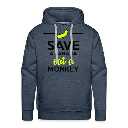 Save The Banana 's Hoodie(Men) - Men's Premium Hoodie